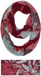 Bamboo Circle Scarf - Raven Feathers