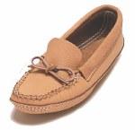 Men's moosehide moccasins - size 8