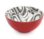 "6"" Porcelain Bowl - Eagle Transforming"