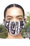 Mask - Modern - Black - Small