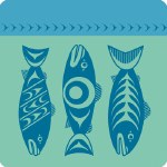 Coaster - Salmon Blue