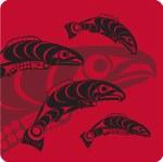Coaster - Salmon Red