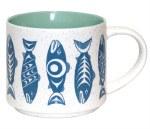 Ceramic Mug - Salmon Blue