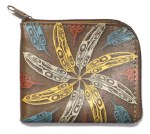 Raven Feathers Coin Purse