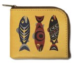Salmon in the Wild Coin Purse