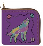 Howling Wolf Coin Purse
