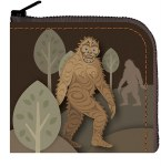 Sasquatch Coin Purse