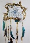 "12 "" Wanderer Dream Catcher - Turquoise"