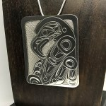 Sterling Silver Rectangular - Eagle - XL