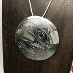 Sterling Silver Round - Raven - XL