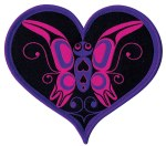 Butterfly Heart Patch