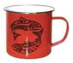 Enamel Mug - Salmon