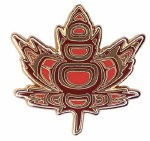 Indigenous Maple Pin