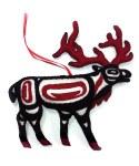 Wool Ornament Elk