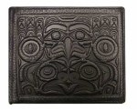 Leather Bi-fold Wallet - Frog & Eagle