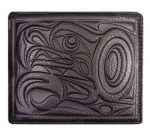 Leather Bi-fold Wallet - Eagle