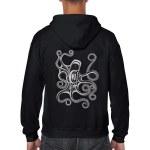 Octopus Zippered Hoodie