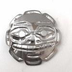 Sterling Silver Cutout Sun Pendant