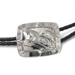 Sterling Silver Bolo Tie - Thunderbird