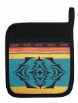 Pot Holder Salish Sunset