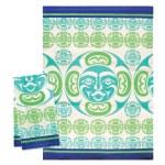 Natural Unbleached Tea Towel - Moon
