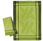 The Offering Green Tea Towel