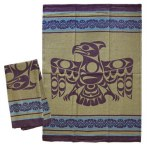 Thunderbird Beige Tea Towel