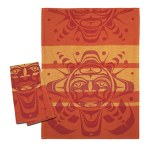 Sun Orange Tea Towel