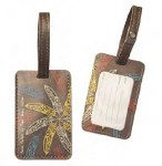 Raven Feathers Luggage Tag