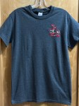 Eagle Embroidered T-shirt - Grey