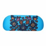 Flowers & Birds Eyeglass Case