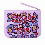 Zip Pouch - Woodland Floral