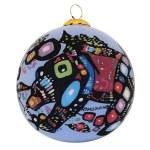 Bear Glass Ornament
