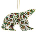 Spring Bear Metallic Ornament