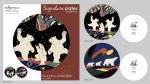 Set of 2 Plates - Dancing Bears & Three Bears