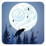 Raven Moon Coasters
