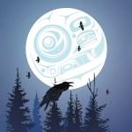 Trivet - Raven Moon