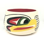 Eagle Ceramic Pot