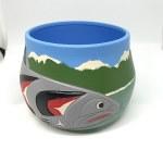 Salmon Ceramic Pot