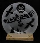 """10.5"""" Plate - Eagle"""