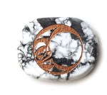 Howlite - Moon - Tranquility, Peace