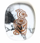 Howlite - Spirit Owl - Tranquility, Peace