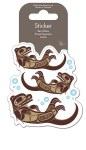 Sea Otters Sticker