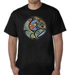 Whale - muti colour T-shirt