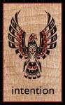 Eagle Wood Magnet