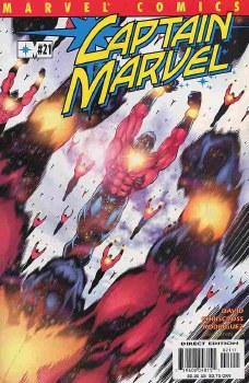 CAPTAIN MARVEL (1999) #21 NM-
