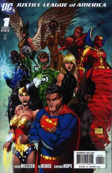 JUSTICE LEAGUE OF AMERICA VARIANT EDITION #1