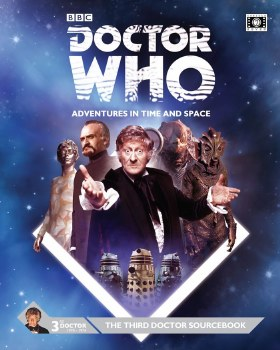 DR WHO RPG THE THIRD DOCTOR SOURCEBOOK