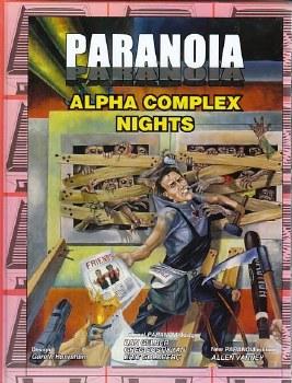 PARANOIA RPG XP ALPHA COMPLEX NIGHTS