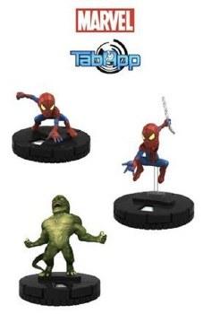MARVEL HEROCLIX AMAZING SPIDER-MAN TAB APP PACK